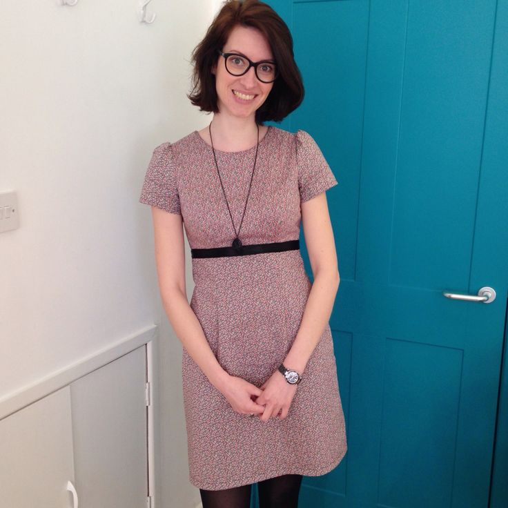 Megan Dress - Tilly and the Buttons - Made by RockingStitch #mmmay15
