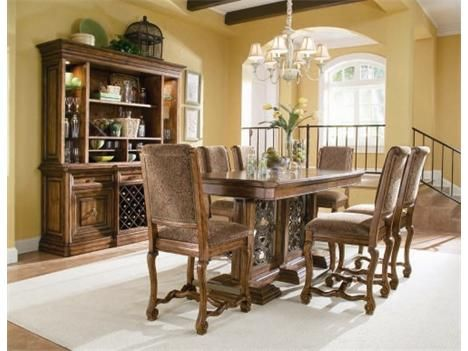 Bernhardt Villa Hermosa Bar Set W Counter Stools Dining Room Furniture