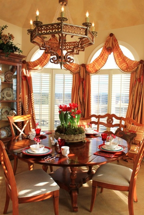 Dining Room Blinds Decoration Image Review