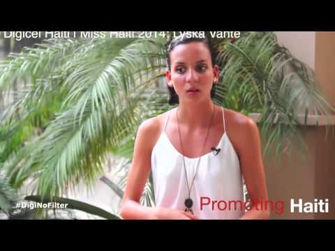 Lyska Vanté, Digicel Haiti | Miss Haiti 2014