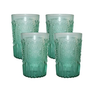 seafoam glasses- set/4: Maine Colors, Colors Possible