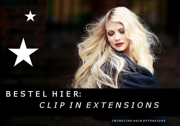 C L I P I N H A I R E X T E N S I O N SClip in hair extensions is verreweg de snelste manier om langer en dikker haar te krijgen. Er zijn veelvoordelen aan het kiezen van clip in extension.