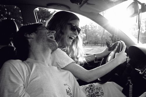 road trips and laughter