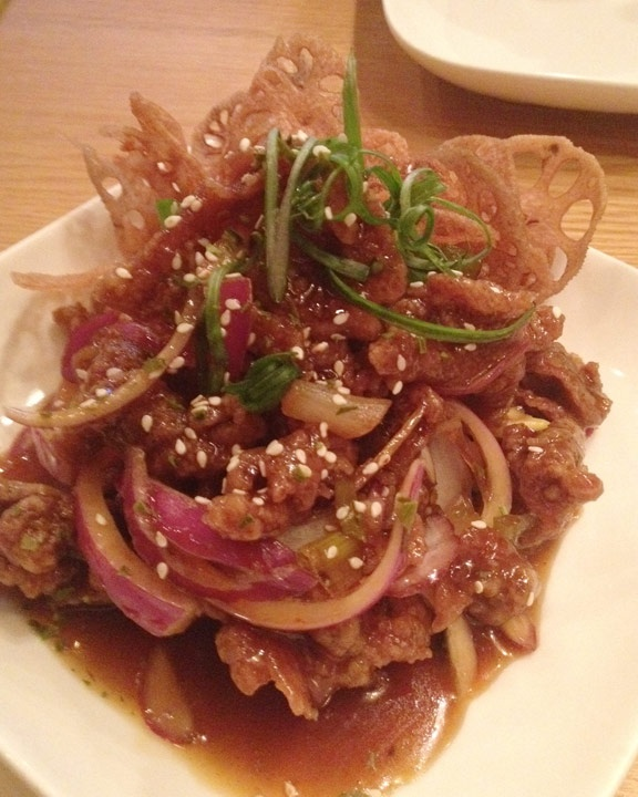 Spicy Crispy Beef @RedFarmNYC | Eating Out | Pinterest