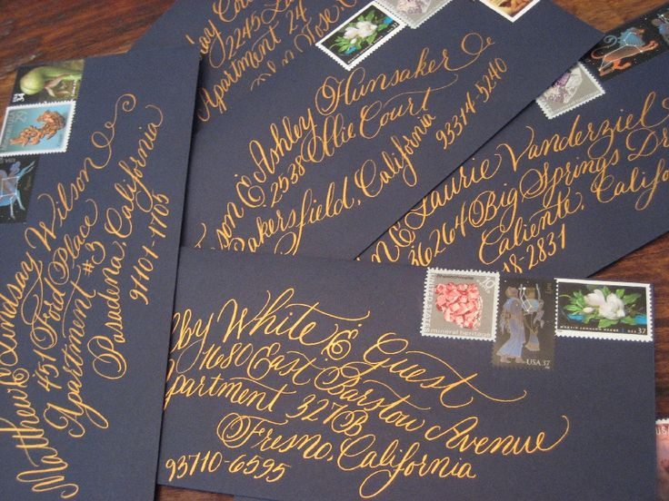 Hand Calligraphy- The San Francisco Style.