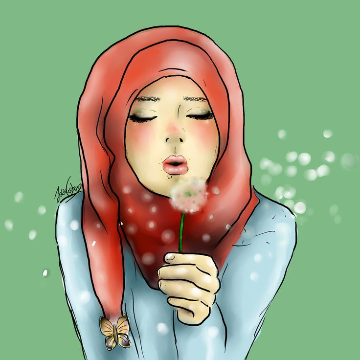 Hijab girl by isyislem.deviantart.com on @DeviantArt