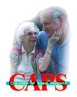 Website for children of aging Parents.
