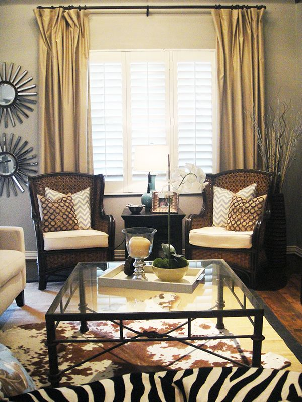Love these thatched-back living room chairs - 85 Best Images About Pier 1 Living Room Decor On Pinterest