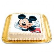 Tort cu poza Mikey Mouse