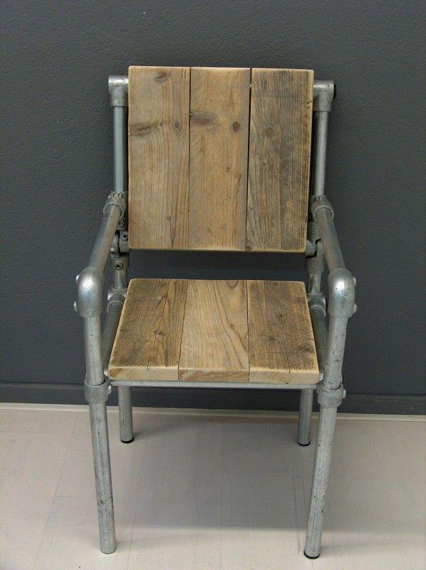 wood pipe chair - Google 검색