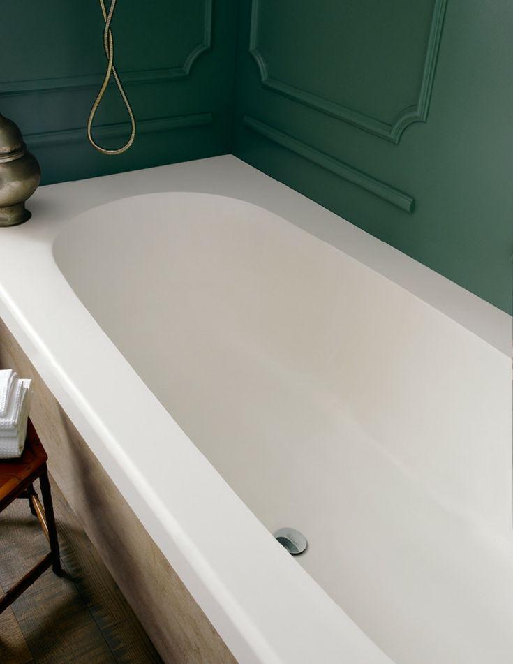 Fugenlos Weiß Corian Material Hygienisch Corian Badewanne #badezimmer  #bathroom #design