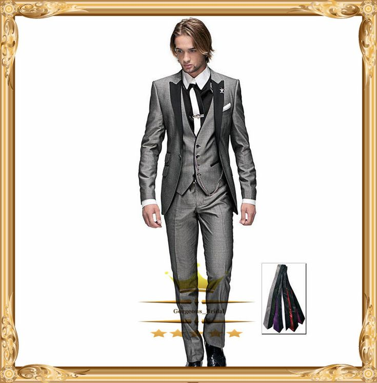 Find More Suits Information about Classic New Arrival  Mens Wedding Custom Men Suits Light Gray One Button Peak Lapel Tuxedo Groom Slim Fit  2015 BM273,High Quality wedding retailer,China wedding linens for sale Suppliers, Cheap wedding quilt from Gorgeous_Bridal on Aliexpress.com