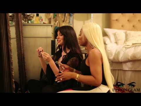 Best Way To Apply False Lashes With Blac Chyna