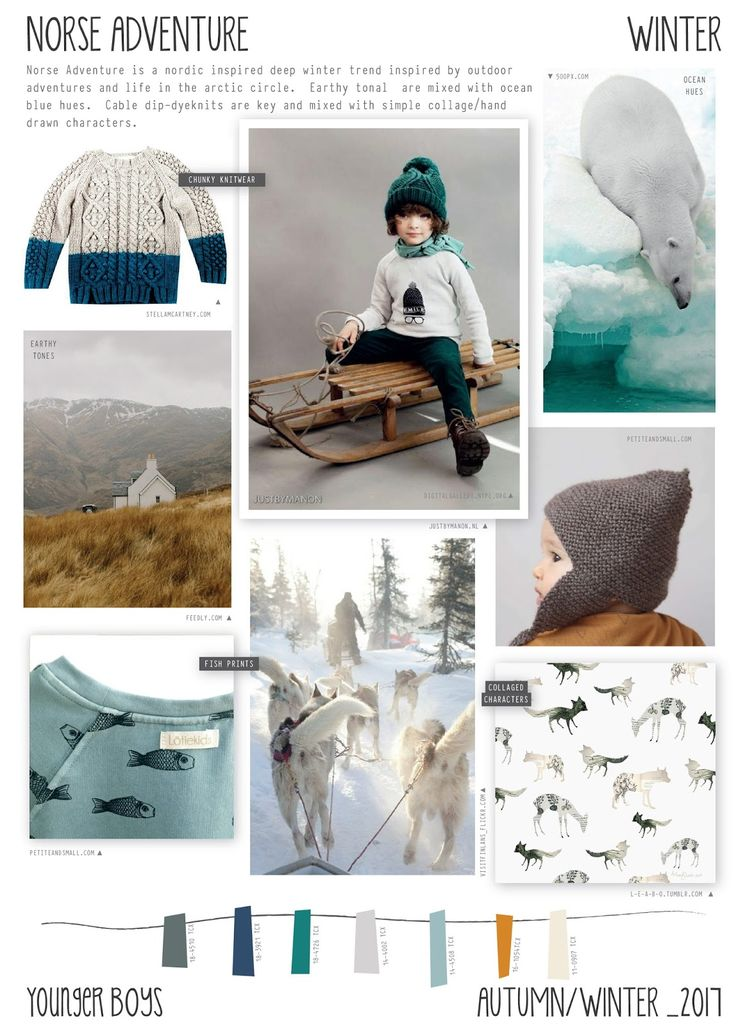 Emily Kiddy: Norse Adventure - Autumn/Winter 2016/17 - Younger Boys Trend