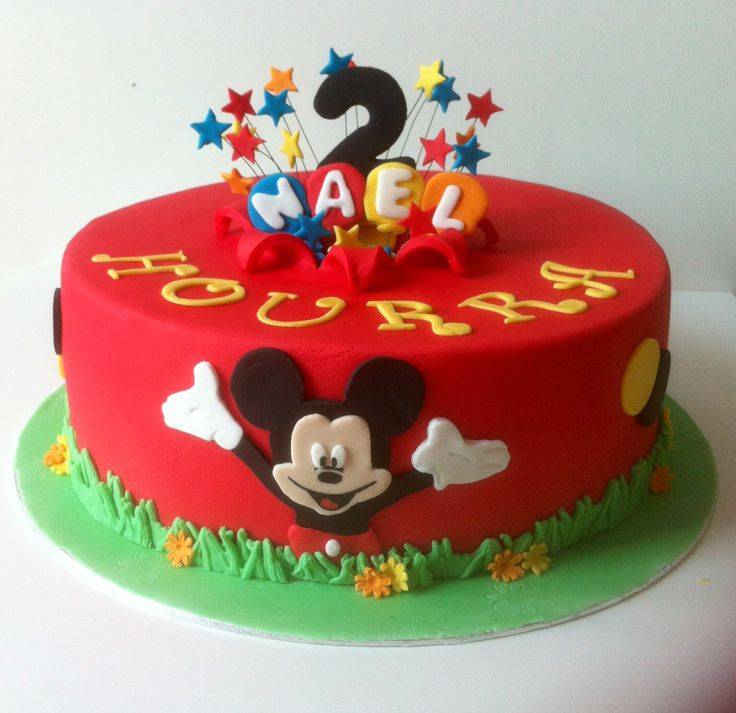 Gâteaux anniversaire Mickey