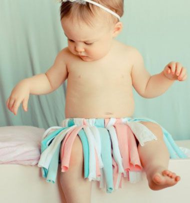 Cute T-shirt tutu // Aranyos tütü megunt pólókból // Mindy - craft tutorial collection