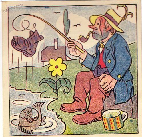 20.léta Rybář