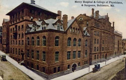 Mercy               Hospital, Baltimore