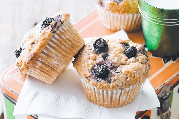 Áfonyás joghurtos muffin, karácsonyi fincsiség pikk-pakk
