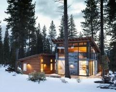 just tucken away in the snow.      ---houzz.com