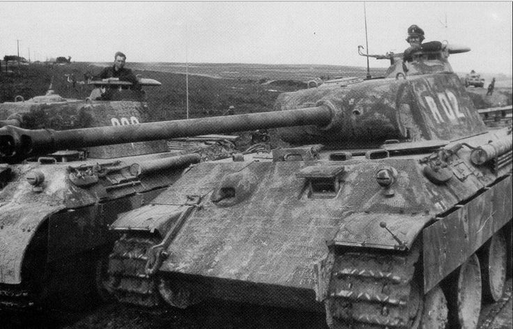 Panthers of the 5.SS-Panzer-Division Wiking August 1944