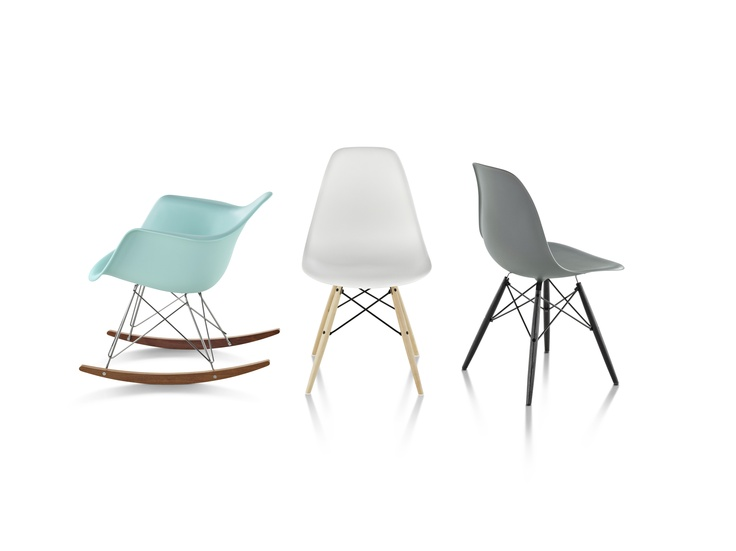Eames Molded Plastic Chairs Good Goods Pinterest
