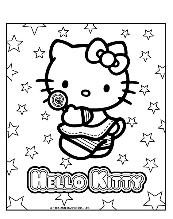 coloring pages hello kitty summer clothes | 409 best Printables HK images on Pinterest | Hello kitty ...
