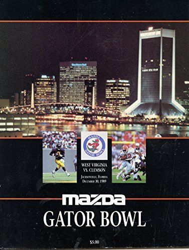 Check it out! Our newest addition 1989 Gator Bowl C... is available today at http://childhood-sports-memories.myshopify.com/products/1989-gator-bowl-clemson-tigers-vs-west-virgina-mountaineers-football-program?utm_campaign=social_autopilot&utm_source=pin&utm_medium=pin