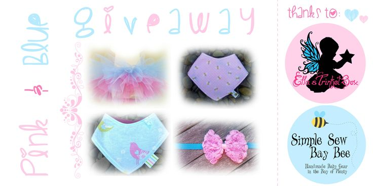 Enter to win! Pink & Blue Giveaway Ella's Trinket Box & Simple Sew Bay Bee   http://goo.gl/rtylmc