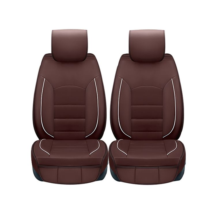 (Yuzhe)2 pcs Leather car seat covers For Audi A6L Q3 Q5 Q7 S4 A5 A1 A2 A3 A4 B6 b8 B7 A6 c5 c6 A7 A8 car accessories styling