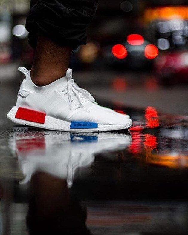 Bloods & Crips ||  by @billsatya  Store: www.blkvis.de  #blkvis  ___________________________________  #adidas #adidasnmd #nmd #nmdrunner #sneaker #sneakers #kicks #sole #footwear #shoe #shoes #bloods #crips #bloodsandcrips #gang #member #gangmember #compton #white #blue #red by blkvis