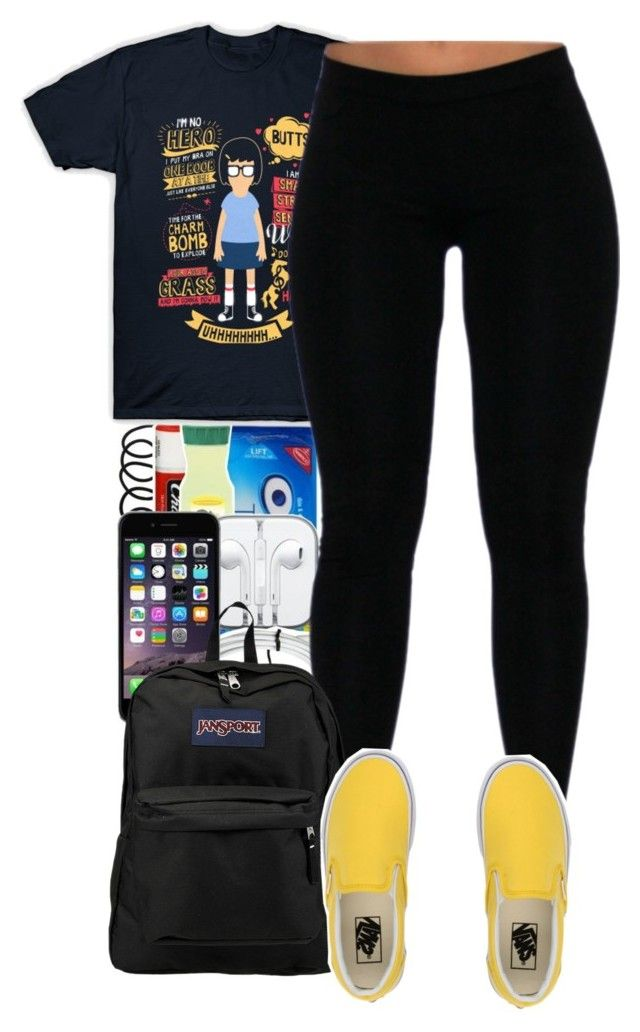 """""""2017 was absolute garbage to me"""" by pimpcessjayyy ❤ liked on Polyvore featuring Vans and JanSport"""