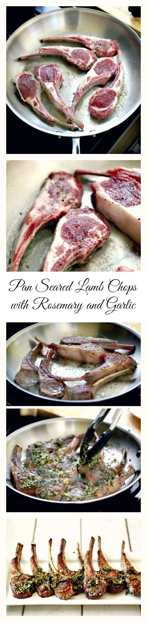 #Paleo #LambChops -  Watch the video to see how to make quick and easy Lamb Chops!