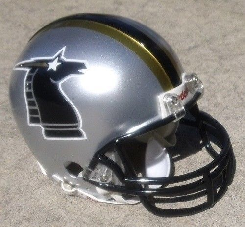 NFL Europe | ... New Jersey Knights Wlaf Football Mini Helmet NFL Europe NY NJ | eBay