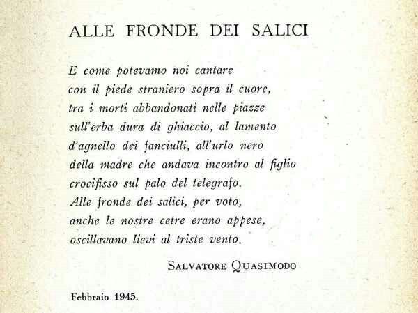525 best poeti italiani images on pinterest alain delon - Poesia specchio di quasimodo spiegazione ...