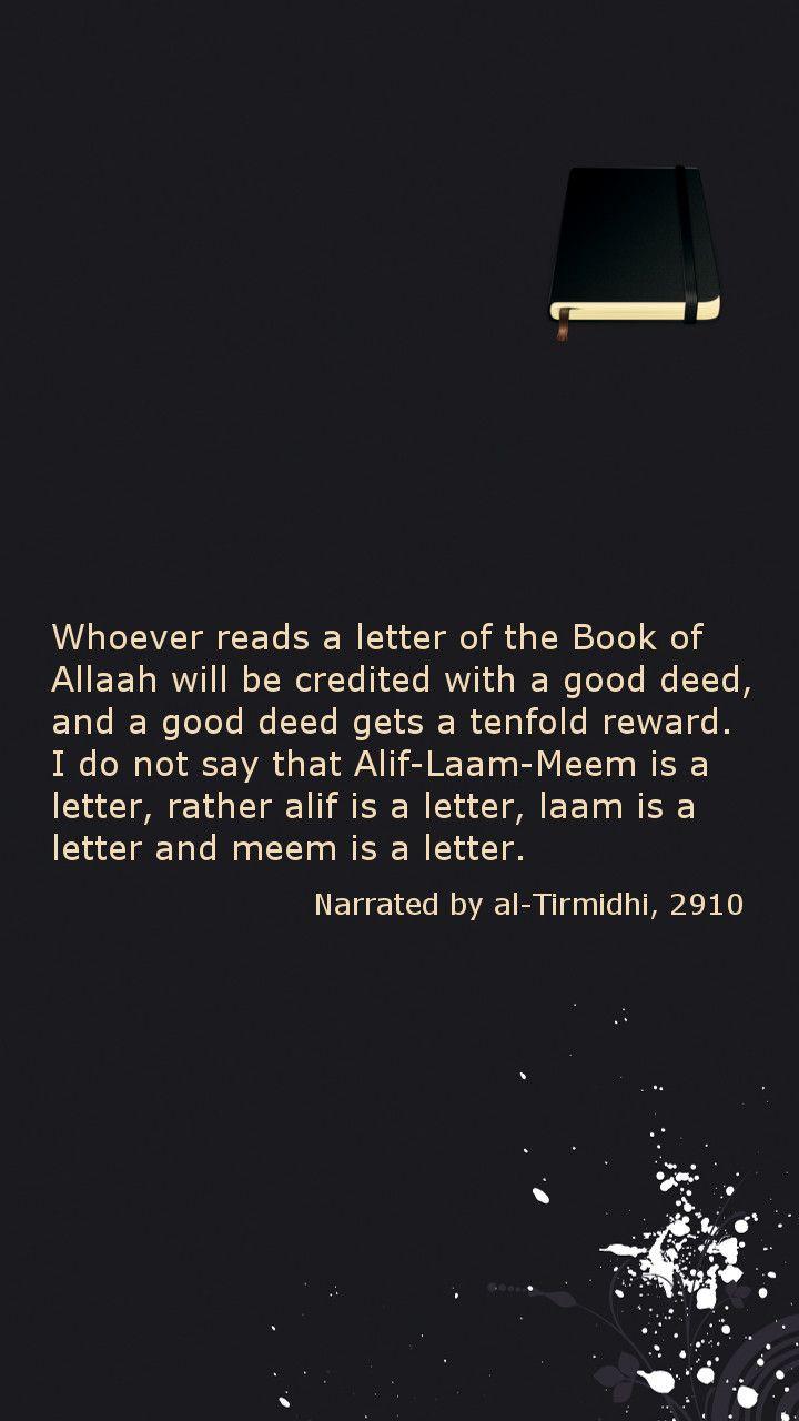 Reading #Quran (#Hadith, #Note3 Lockscreen)