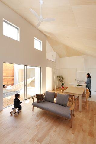 愛荘の家 - Works - 滋賀県 建築設計事務所 建築家 ALTS DESIGN OFFICE (アルツ デザイン オフィス)