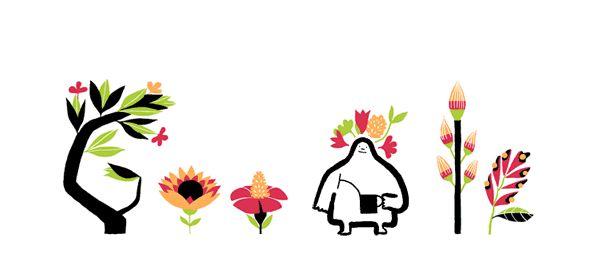 El logo de Google hoy es diferente en el hemisferio sur y en el norte