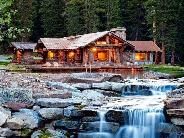 17 Best Images About Houses With Waterfalls On Pinterest