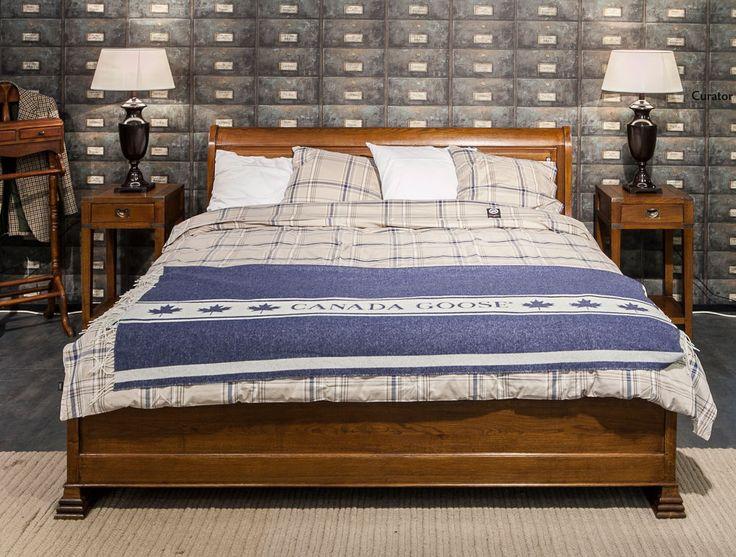Club Vintage Interiors sänky ja yöpöydät, Canada Goose petivaatteet