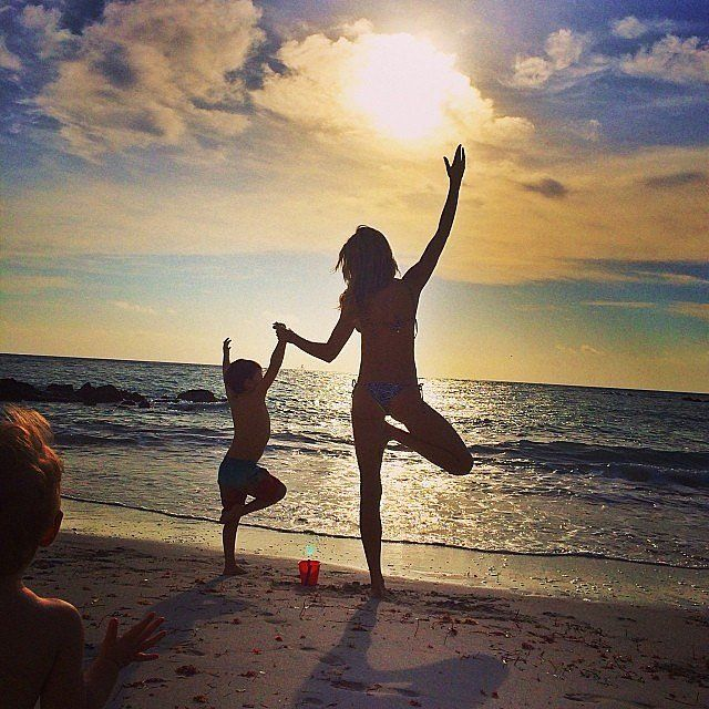 30 Adorable Family Photos From Tom and Gisele: There are plenty of seriously cute celebrity families in Hollywood, but Tom Brady and Gisele Bündchen are up there towards the top of the list.