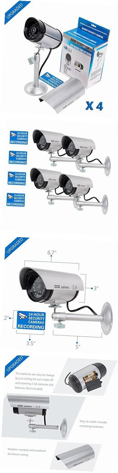Dummy Cameras: Bullet Dummy Fake Surveillance Security Cctv Dome Camera Indoor Outdoor With -> BUY IT NOW ONLY: $31.28 on eBay!