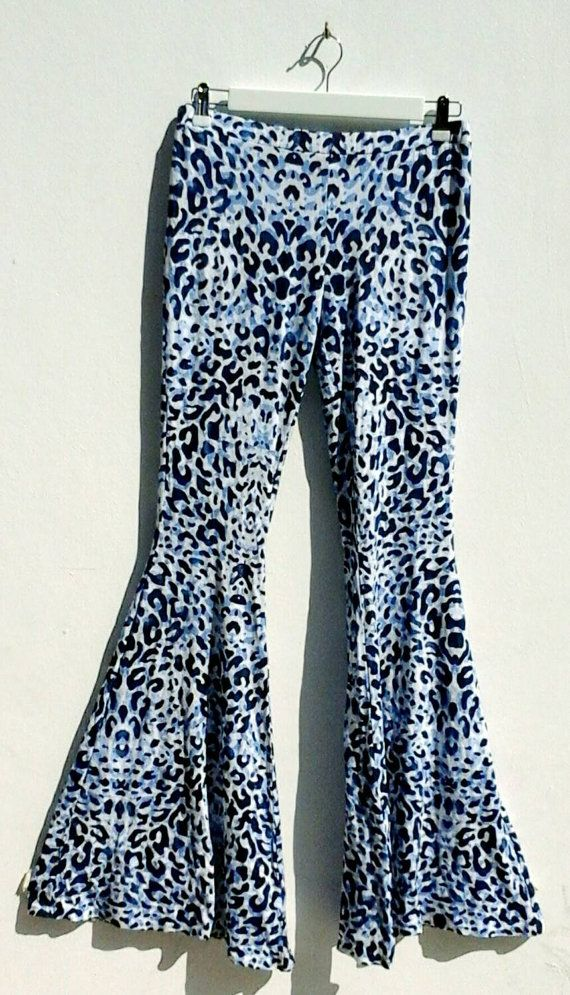 Check out this item in my Etsy shop https://www.etsy.com/listing/225453938/skinny-flare-trousers-leopard-print