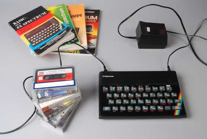 Sinclair ZX Spectrum (1982). CC-BY Museum Rotterdam