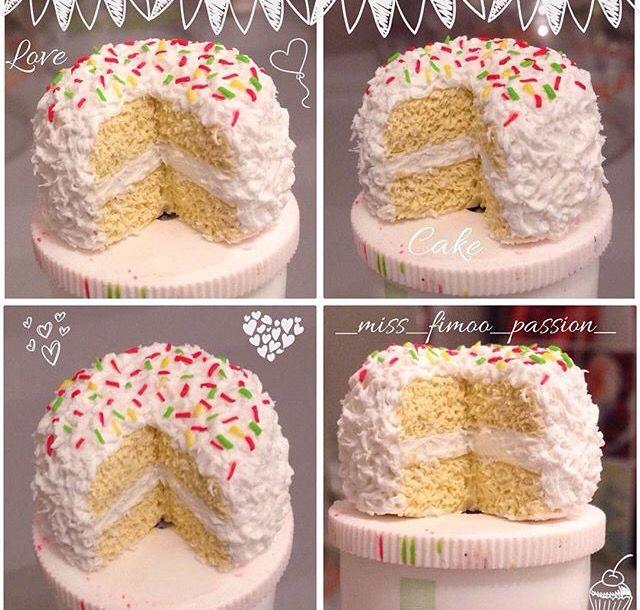 Gâteaux DIY Fimo !