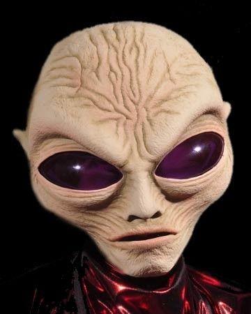 roswell alien mask full head latex mask halloween - Alien Halloween Masks