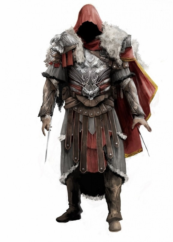 Assassins Creed Romulus armour