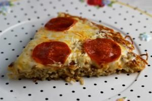 Fried Spaghetti Pizza is Delicious and Easily Made with Leftovers: Fried Spaghetti Pizza