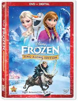 """""""Frozen Sing-Along Edition"""" Available on DVD and Digital – November 18, 2014"""