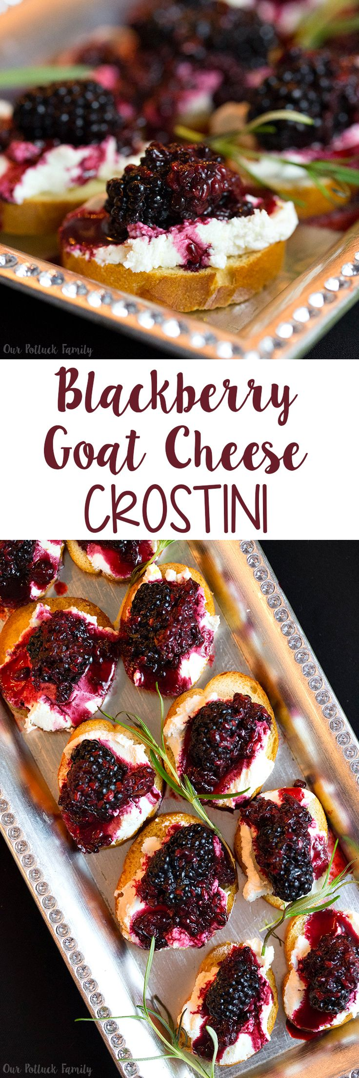 Fun ideas to set up a Speakeasy Party with a Chardonnay tasting paired with a delicious Blackberry Goat Cheese Crostini appetizer.